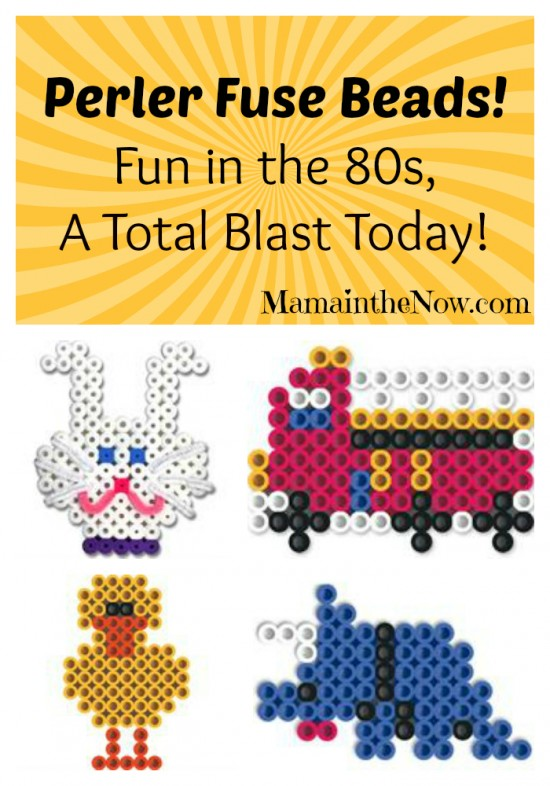 Perler Fuse Beads! Fun in the 80s, a Total Blast Today!