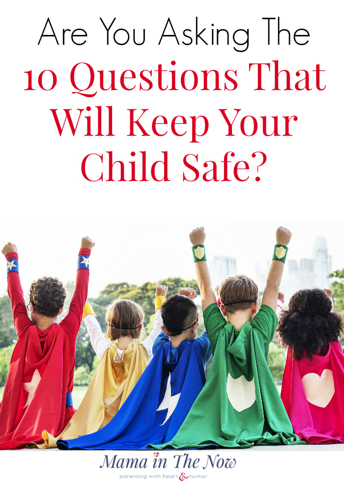 Are you asking these 10 questions before dropping your child off at a play date? Hosting a fun and safe play date requires upfront answers to hard questions. Click to read more - and get a free printable.
