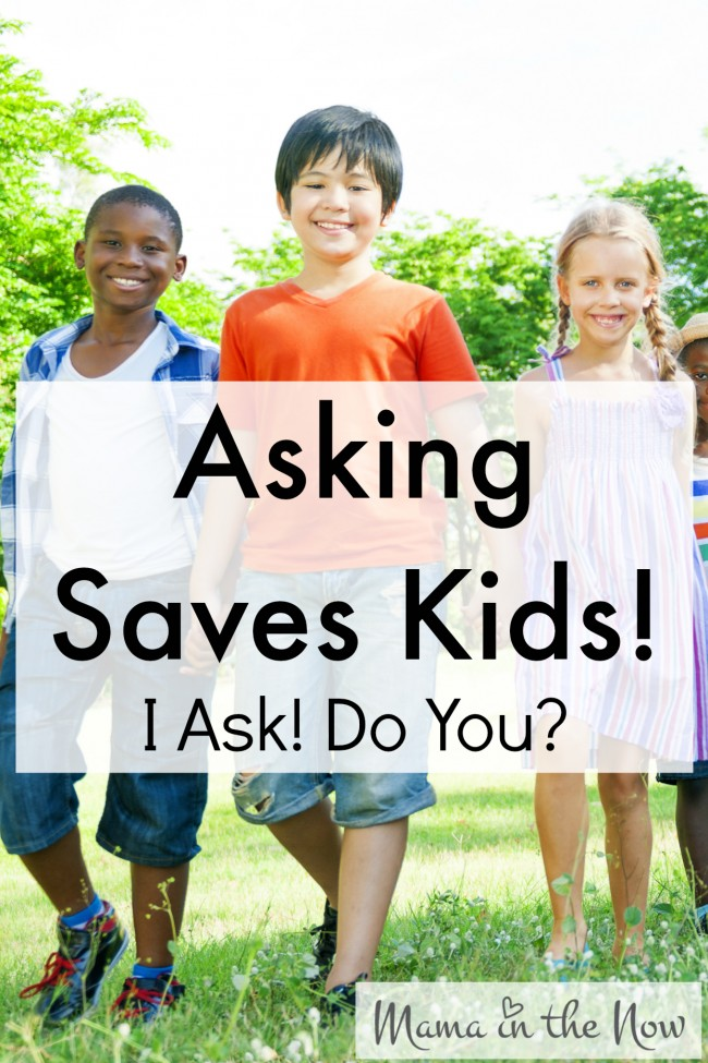#AskingSavesKids. I ask, do you? Make sure your child's play environment is safe! Ask to make sure all firearms are securely unloaded and locked before allowing your kids to play!