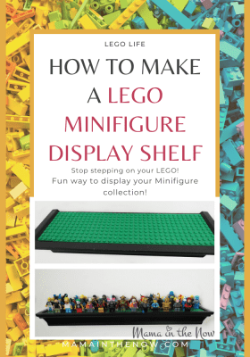 LEGO display shelf