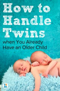 How to handle twins when you already have an older child