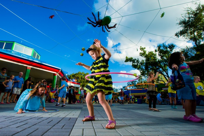 WINTER HAVEN, FL -- October 11, 2014 -- LEGOLAND ® Florida Resort celebrates Brick or Treat this Halloween with costume contests, model builds, character meet and greets, and more. (PHOTO / LEGOLAND Florida, Merlin Entertainments Group, Chip Litherland)