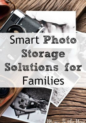 Smart photo storage solutions for families. A mother of four shares how she preserves all their photos without breaking the bank.