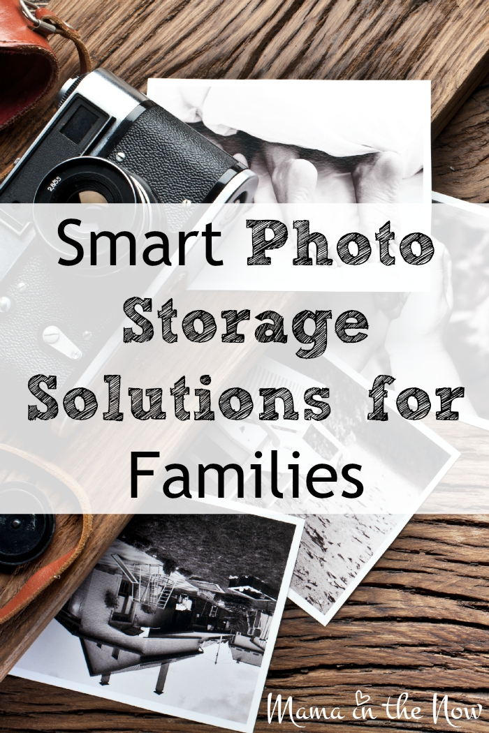 Smart photo storage solutions for families. A mother of four shares how she preserves all their photos without breaking the bank. I bet you will like # 1 on her list!