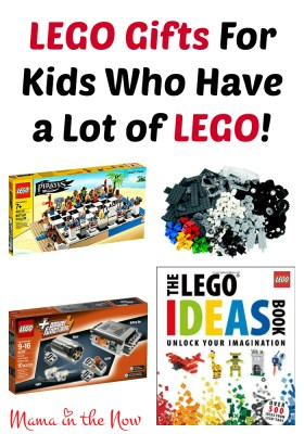 LEGO Gifts For Kids Who Have a Lot of LEGO!