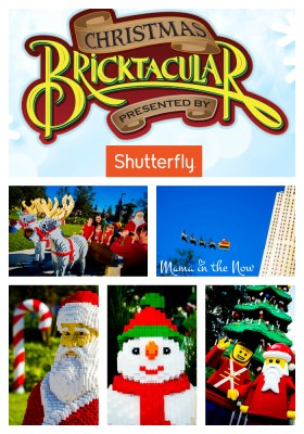 Christmas Bricktacular Celebration at LEGOLAND Florida Resort. Stunning LEGO builds, fun for the whole family throughout the park.