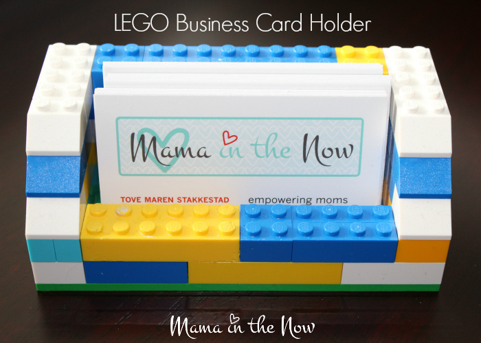 Diy lego business card holder diy lego business card holder perfect for gift for birthdays fathers day or mothers reheart Gallery