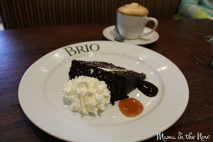 A review of the Tale of Two Risottos at Brio Tuscan Grille. #2Risottos #BrioLove