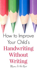 35 Fun Ways to Improve Your Child's Handwriting – Without Writing!