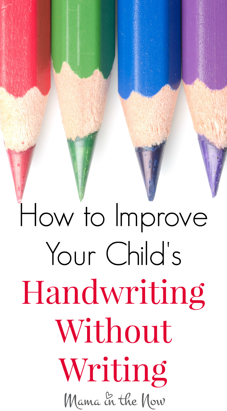 35 Fun Ways to Improve Your Child's Handwriting! Without Writing! Incredible resource in one article. Written by a pediatric OT - expert advice!