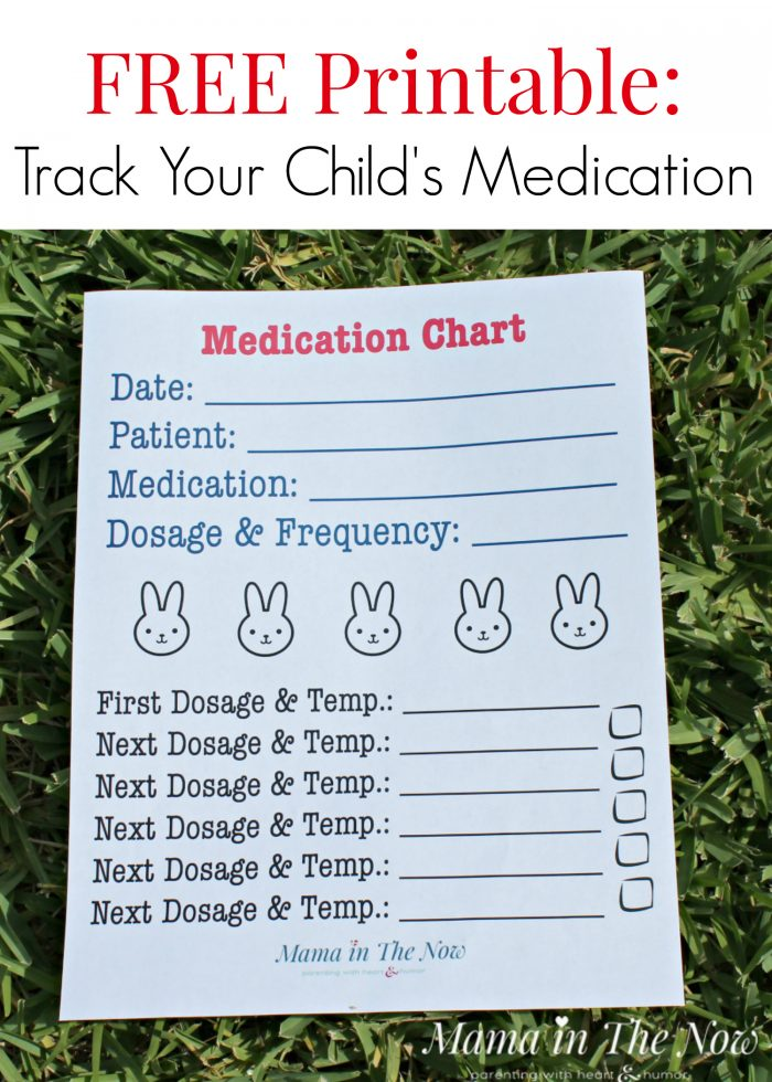 Keep track of your child's medication. Prevent overdosing, under-medicating or skipping dosages. Great to share with caregivers.
