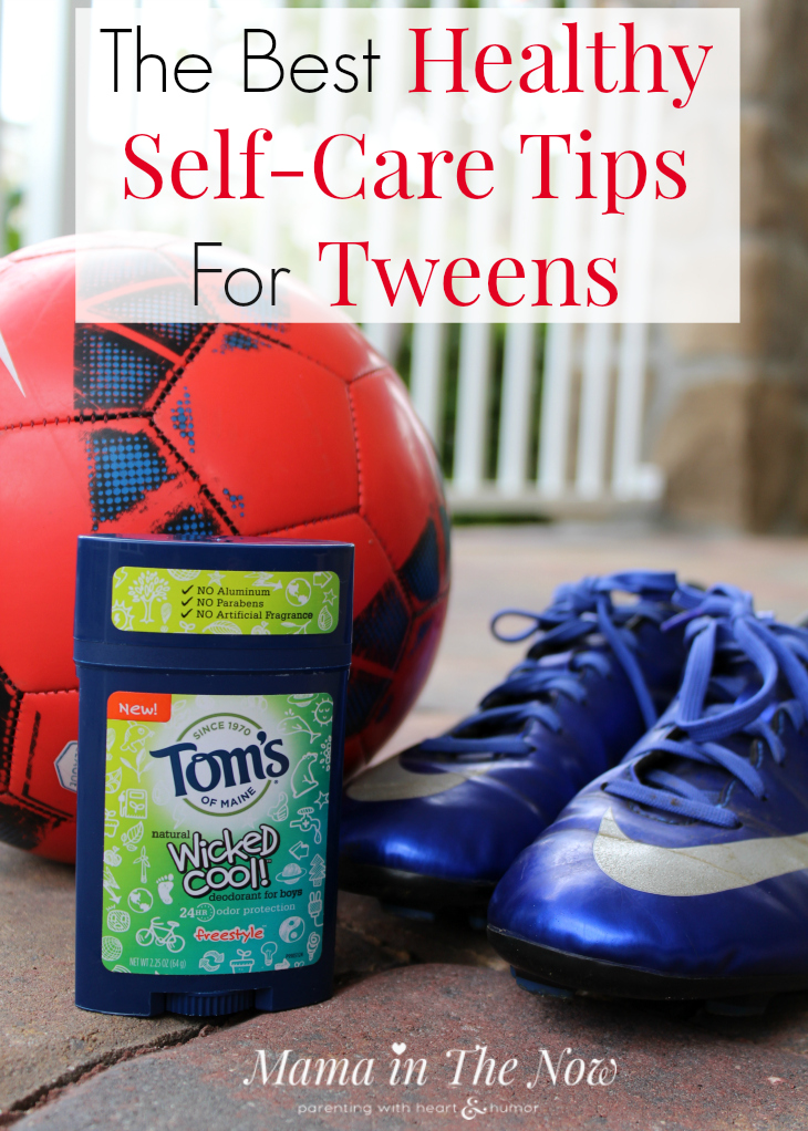 Self-care daily routine schedule for tweens. Gentle reminder for your tween to establish a good daily routine. Parenting tweens.