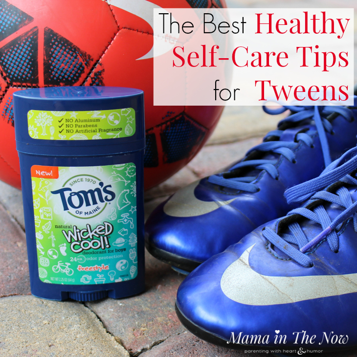 Help your tween establish a good self-care regiment. Find green and healthy products for them to use. Don't compromise their health.
