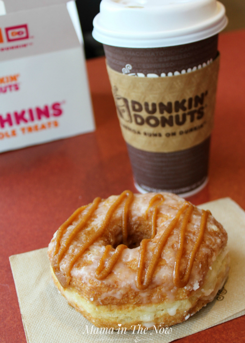 Dunkin' Donuts new fall line-up of breakfast is available any day, all day!