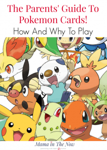 The ultimate guide for parents and kids to learn how to collect and play with Pokemon cards. The benefits of Pokemon explained. Pokemon TCG play deck included.