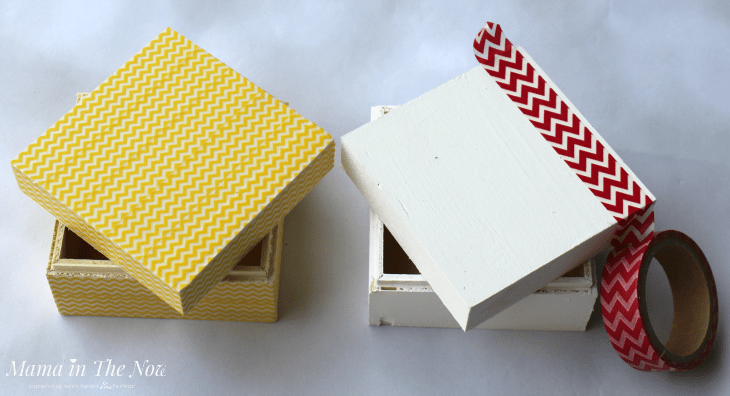 Decorating LEGO® Minifigure beds with washi tape from Oriental Trading Company - a quick way to make you look like a creative genius.