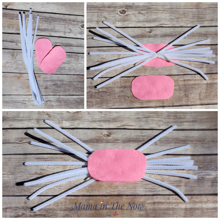 The cutest Easter bunny door wreath instructions.