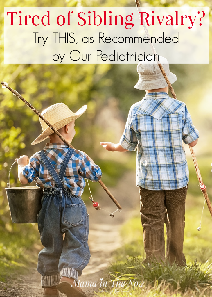Are you tired of sibling rivalry, the constant fighting and bickering? Our pediatrician gave us the best solution - and it works! It's a total parenting win! Positive parenting, empowering kids, stop the sibling fights and arguments.