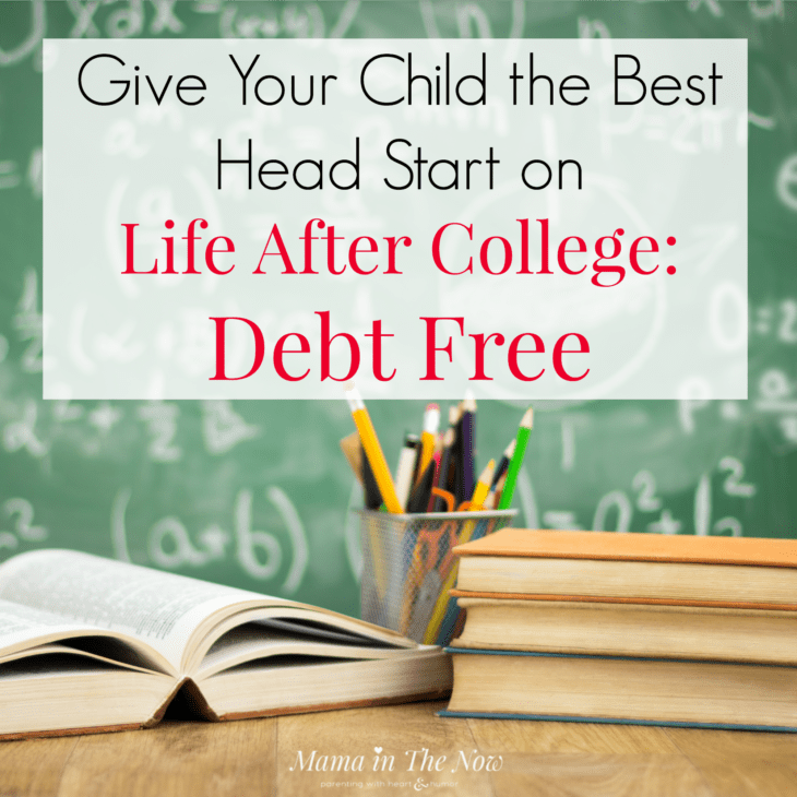 Give your child the best head start on life after college: debt free. College planning for families, money management tips for Florida families. #MoneyManagement #StartingIsBelieving #CollegePlanning