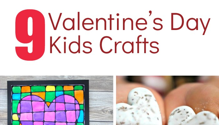 9 Valentine's Day Kids Crafts