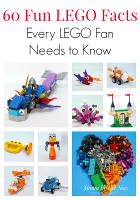 60 fun LEGO facts to celebrate the 60th Anniversary of the LEGO brick! The coolest toy ever created: LEGO! Learn little-known facts about LEGO, the LEGO Group and the LEGO bricks. LEGO trivial for the true diehard LEGO fan and AFOL. #LEGO #LEGOfacts #60thAnniversary #AFOL #FunFacts #LEGOMom #MamaintheNow