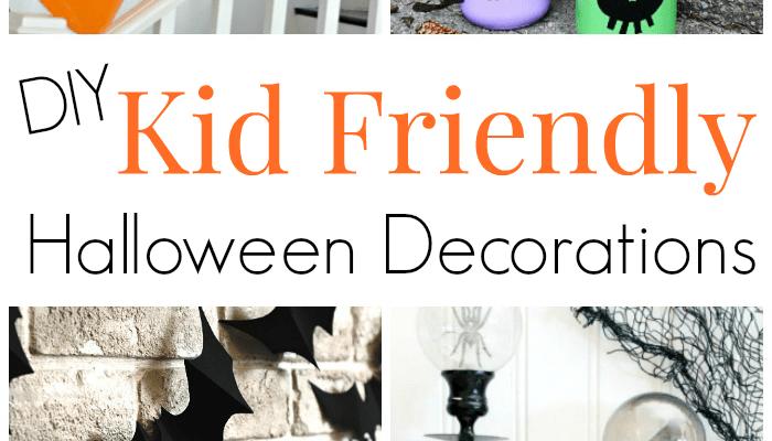 DIY Kid Friendly Halloween Decor