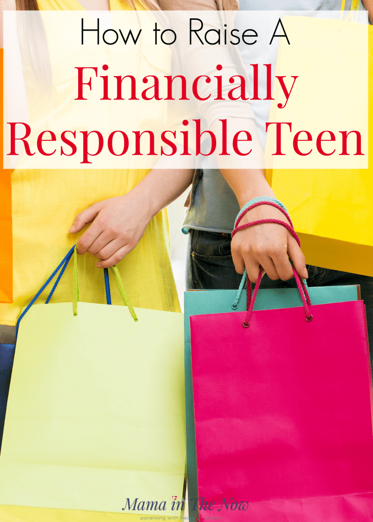 How to raise a financially responsible teen. Teach your tween and teen financial responsibility with these tips. Tips for parenting teens. Financial literacy for teens. #FinancialResponsibility #RaisingTeens #ParentingTeens #FinancialLiteracy #Parenting #ParentingTips #ParentingYoungAdults #RaisingResponsibleKids #MamaintheNow #ResponsibleTeen #Motherhood