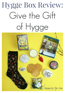 Hygge box review. Subscription box review of the Hygge Box. Give the gift of hygge with the Hygge Box. Great subscription box gift idea for Mother's Day, Christmas and your friend's birthday. #HyggeBox #SubscriptionBox #hyggeboxreview #hygge #hyggelife #hyggeliving #SubscriptionBoxReview #MamaintheNow