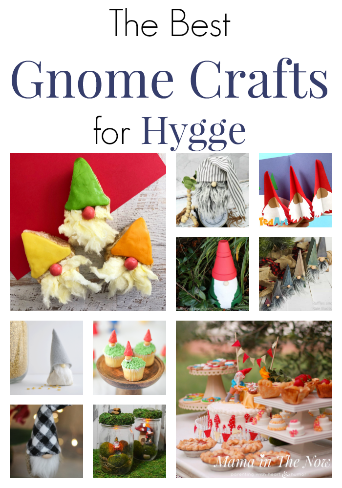 Gnome craft projects for hygge