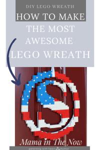 LEGO flag wreath
