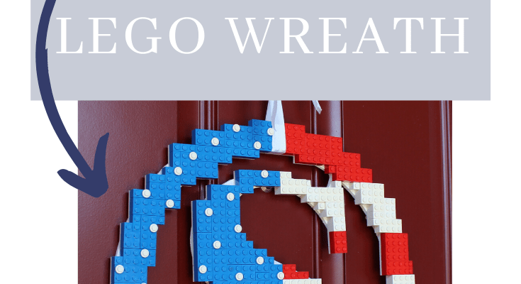 How to Make the Most Awesome LEGO Wreath