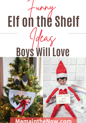 funny elf on the shelf ideas for boys