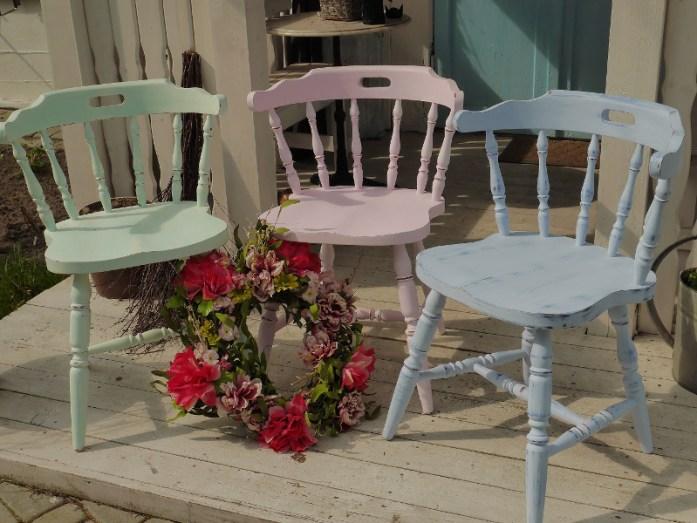 krzesła stylowe, meble prowansalskie