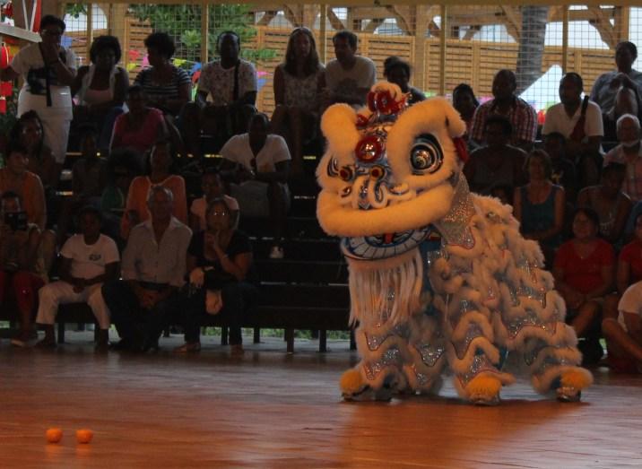 Nouvel an chinois Réunion Danse du Lion