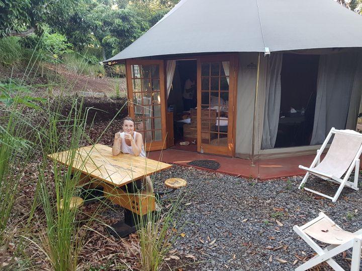 Gadiamb City Glamping en tente safari