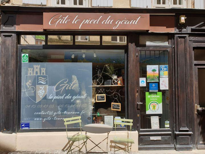 Où dormir dans le nord de l'Ardèche ? Le Pied du Géant, gîte de France Tournon sur Rhône