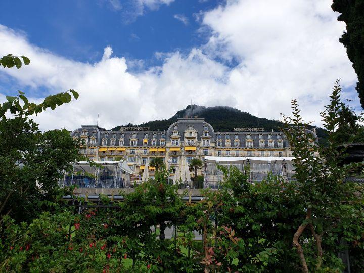 visiter montreux seuisse le fairmont montreux palace