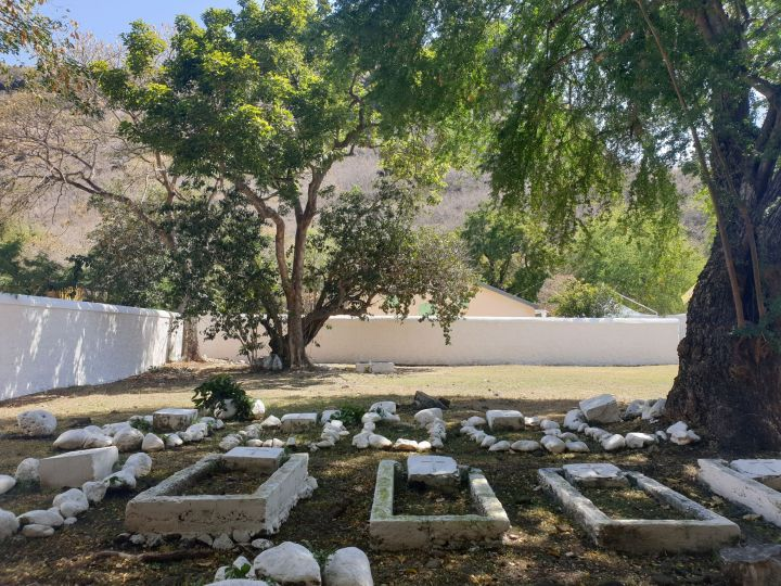 le lazaret de la grande chaloupe - cimetière