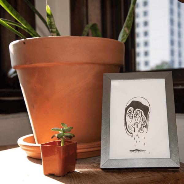 art about mental illness