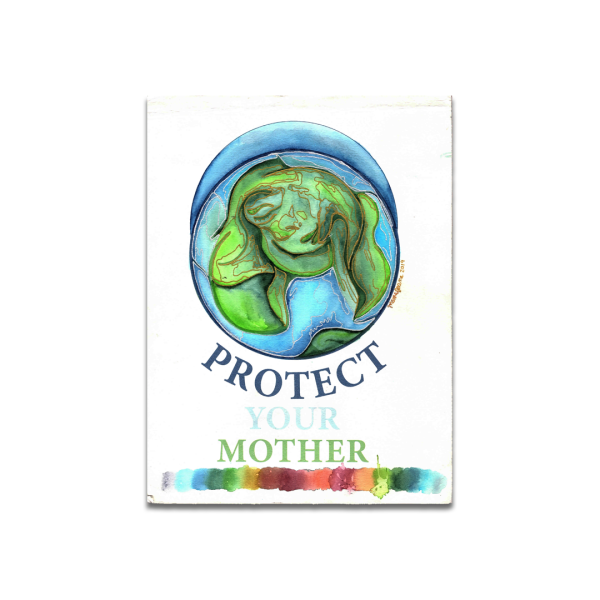 search result watercolor painting about protecting your mother earth