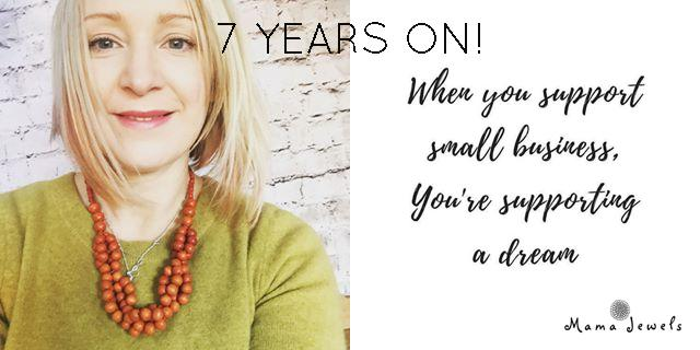 7 YEARS ON - Mama Jewels seven years on!