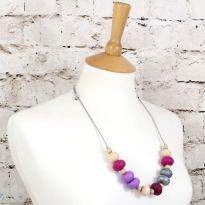 GILLY SS 2018 PURPLES 2 - GILLY silicone teething necklace Purples