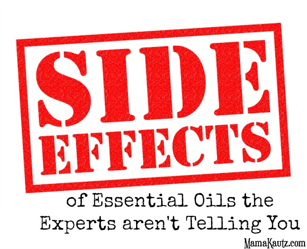Side effects of essential oils