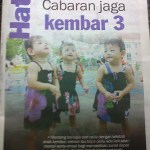 Geng Kembar Dalam Harian Metro!
