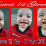 Raimi 1st Giveaway