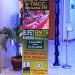Si Kembar Berbuka di Jom Iftar @ TMCC