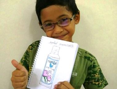 Testimoni Tyzara shampoo soya