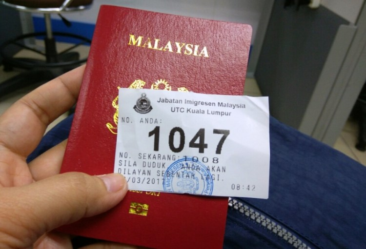 renew passport di UTC
