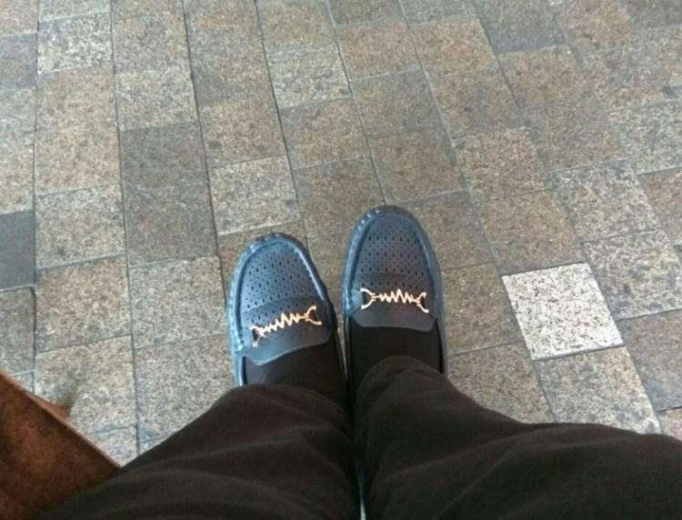 kasut sesuai untuk travel