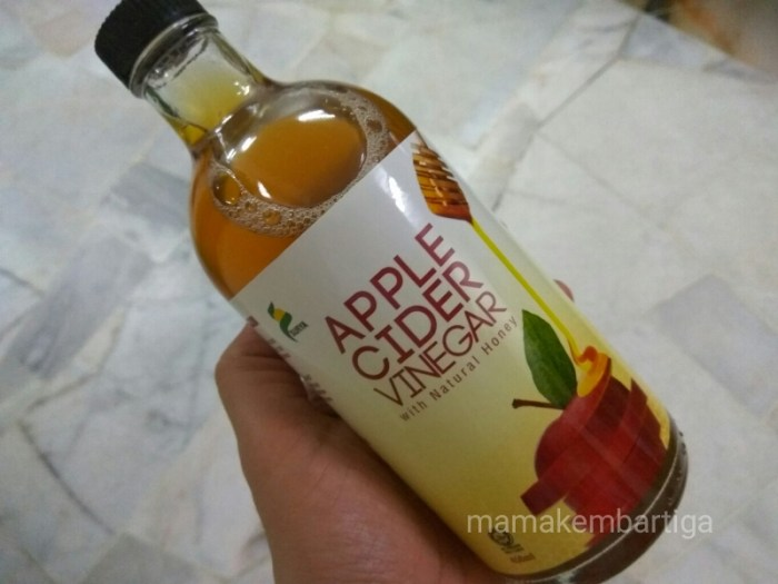 Nak Kuruskan Badan Jom Minum Apple Cider Vinegar